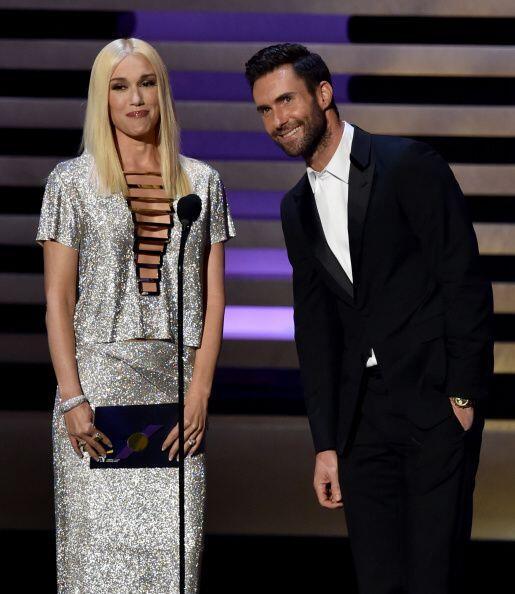 Gwen Stefani fue una de las famosas invitadas para presentar una de las...