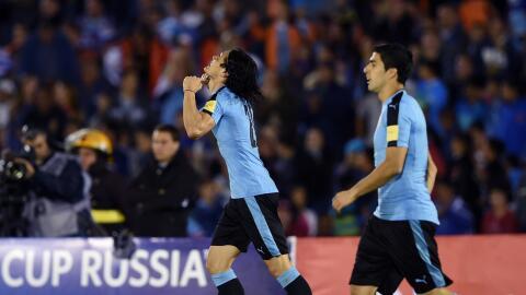 Edinson Cavani marcó el gol del triunfo
