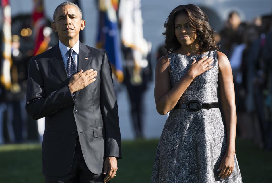 Michelle Obama y su optimismo hecho vestido   GettyImages-487723880.jpg