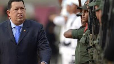 Hugo Chávez, presidente de Venezuela.