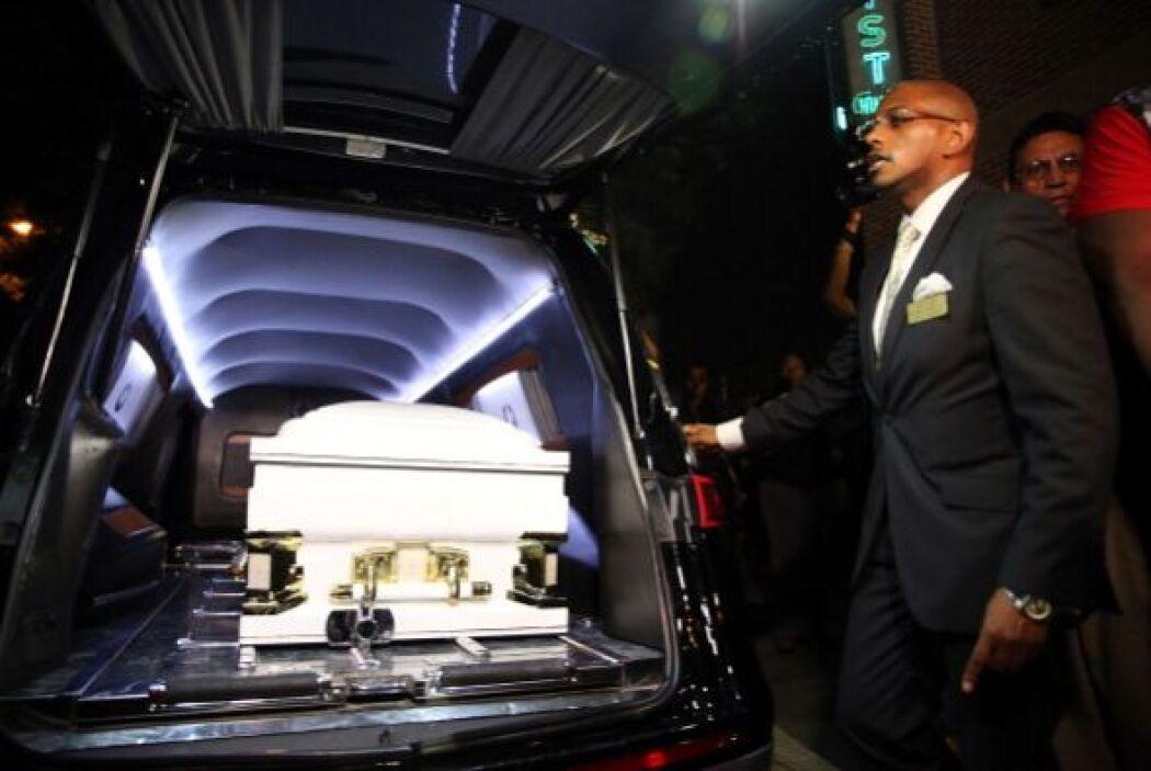 Familiares despidieron a Eric Garner, el hombre que murió bajo custodia...