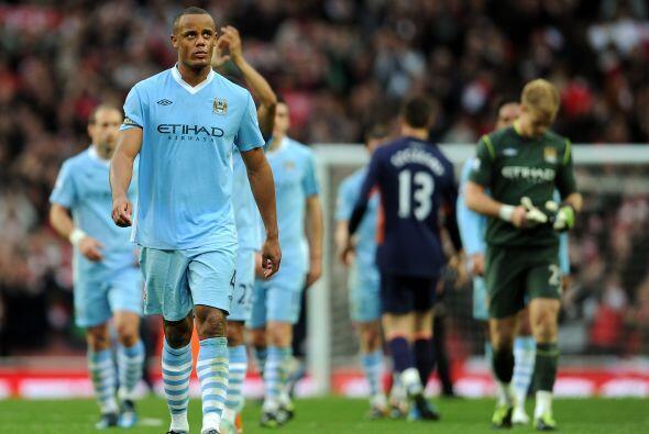 Manchester City se va con la desventaja de 8 puntos abajo de los 'Red De...