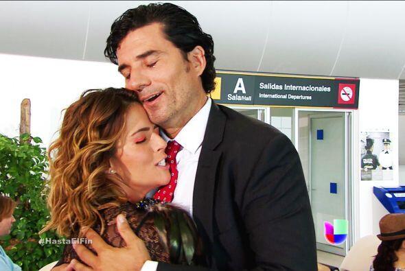 Armando es el hombre más feliz, ya te sentía perdida.
