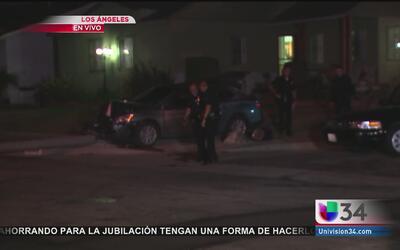 Persecuciones violentas ponen en jaque a residentes de Los Ángeles