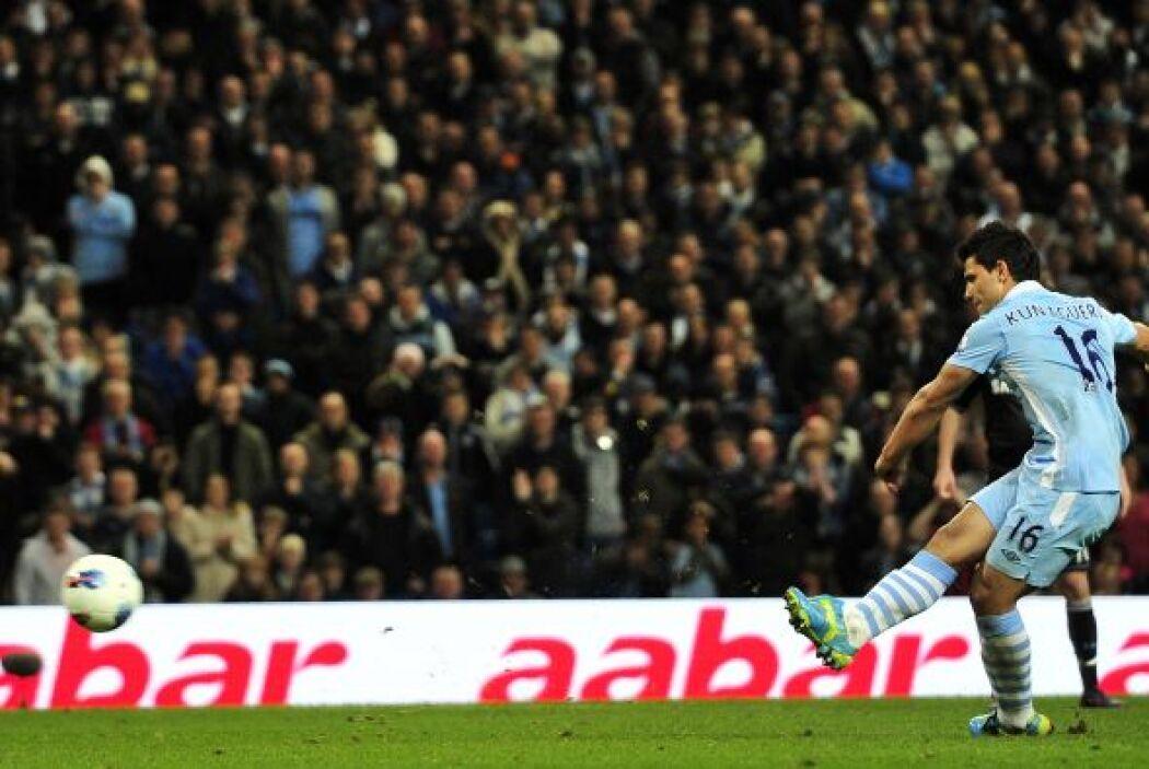 Y se marcó un penalti para el equipo de Manchester, pero quien lo cobró...