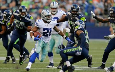 El debut del corredor de los Dallas Cowboys Ezekiel Elliott