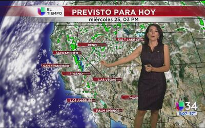 Temperaturas por debajo del promedio para Los Ángeles