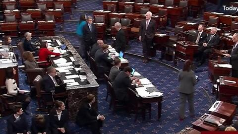 Así defendieron Obamacare los demócratas en el Senado