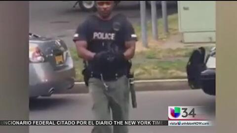 Grababa un arresto y terminó detenido