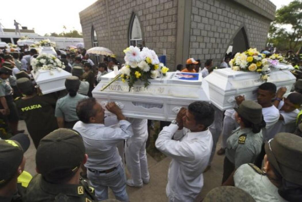 El miércoles, 28 de los 33 pequeños fallecidos en Fundación tuvieron un...