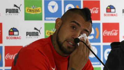 Arturo Vidal pide perdón entre lágrimas: ''Les fallé a todos'' GettyImag...