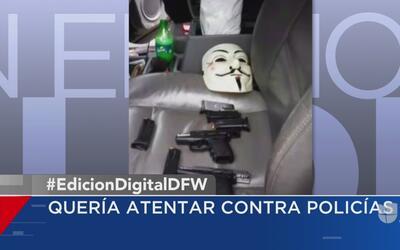 Un joven hispano es arrestado por intentar atentar contra oficiales de D...