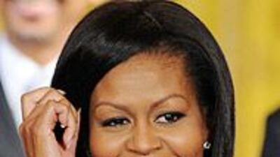 Michelle Obama irá a México en su primer viaje sola como Primera Dama de...
