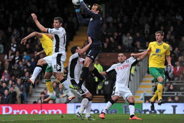Fulham le ganó al Norwich 2 a 1.