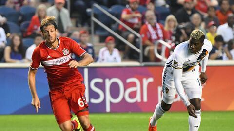El Fire y el Galaxy firmaron un empate 2-2 en Chicago