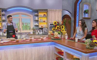 El chef Jesús Díaz enseña a cocinar los diferentes tipos de pasta