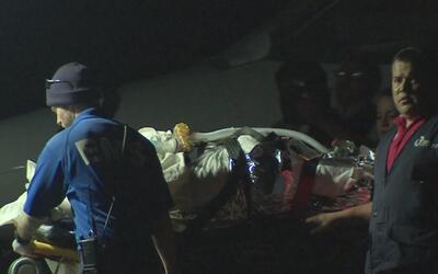 Joven víctima de la explosión en Tultepec, México, sigue luchando por su...