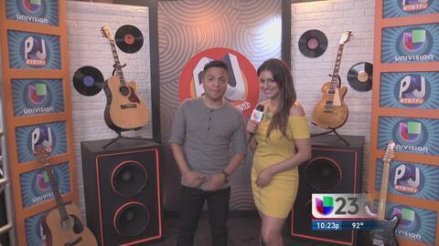 Danny Luna y Vanessa Abuchaibe en los ensayos de Premios Juventud 2016