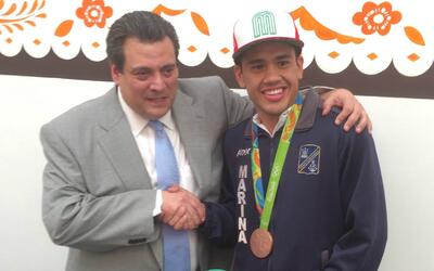 Misael Rodríguez fue reconocido por el CMB