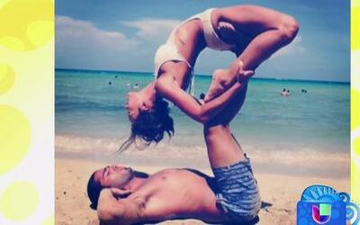 Mira las poses sensuales de Zuleyka Rivera y Jason Canela