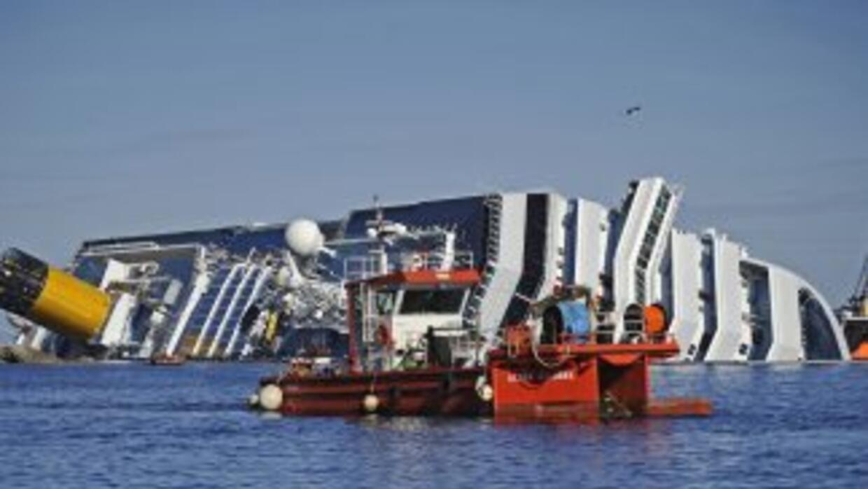 Sobre el movimiento de la nave, las autoridades explicaron que es normal...