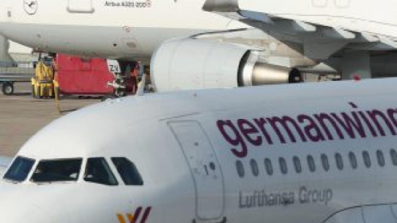 Avión de Germanwings. Imagen de archivo.