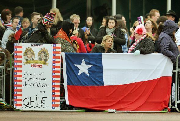 Estos chilenos consiguieron un lugar en primera fila para ver la procesi...