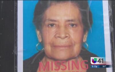 Familiares de Maria Llamas no pierden la esperanza de encontrarla