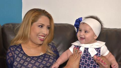 Abrazos del corazón: Adriana Macías abraza a su bebé con el alma