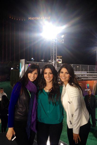 Tres bellas listas para los Latin Grammy. Giselle Blondet, Maity y nuest...