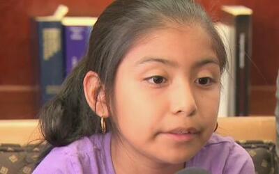 La niña Jersey Vargas rumbo a Washington en busca de una reforma migratoria
