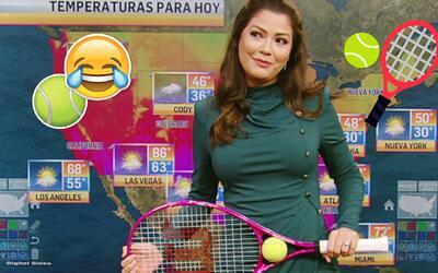 Ana Patricia comenzó la semana con sus mejores chistes sobre tenistas
