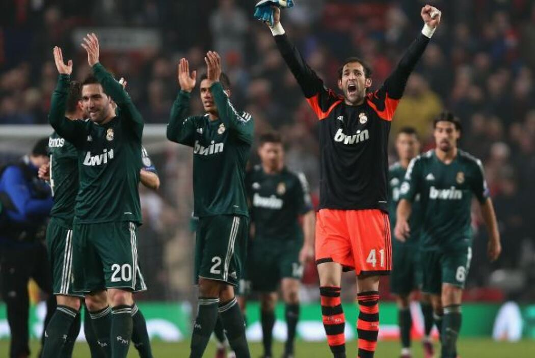 Triunfo final del Real Madrid, que pasa a cuartos de final.