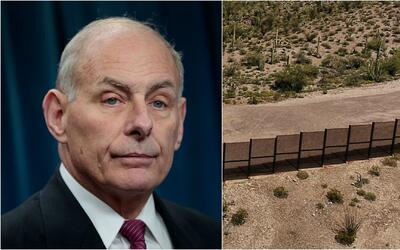 Construcción de muro fronterizo con México avanzaría este verano, reveló...