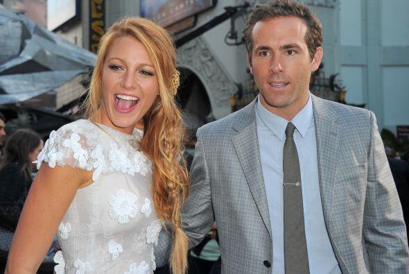 Blake Libely y el actor Ryan Reynolds se conocieron durante el rodaje de...