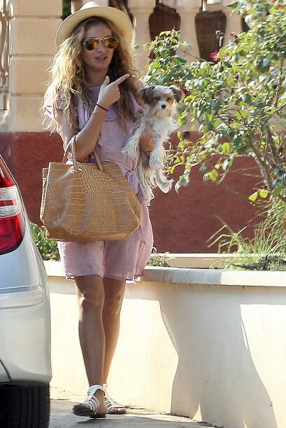 Puedes usar otro vestido más casual como Paulina Rubio, este tipo de ves...