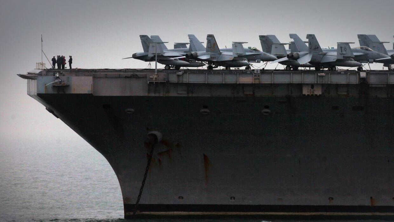 Portaaviones USS Theodore Roosevelt