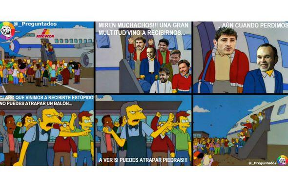 Otra de la serie animada. Todo sobre el Mundial de Brasil 2014.