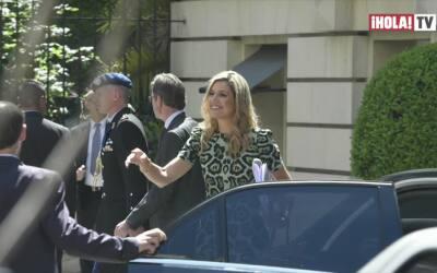 La Reina Máxima de Holanda visita Argentina