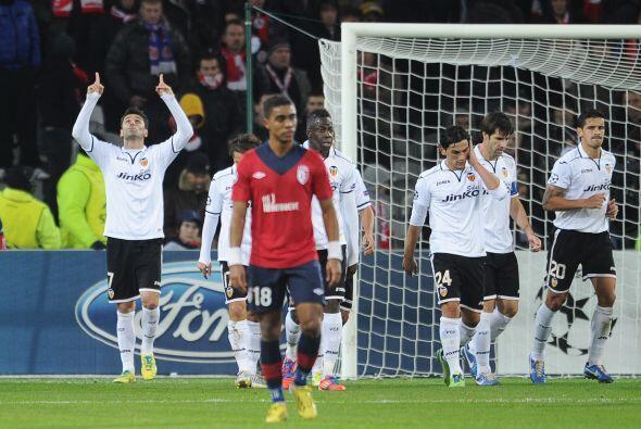 Valencia se conformó con un boleto a octavos de final com segundo lugar...