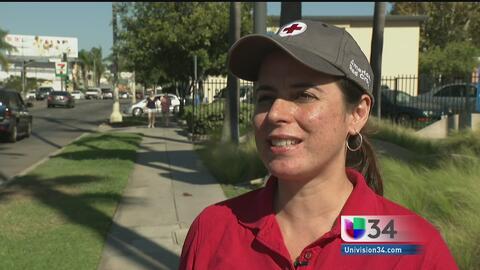 Cruz Roja hace un llamado a los donantes del sur de California