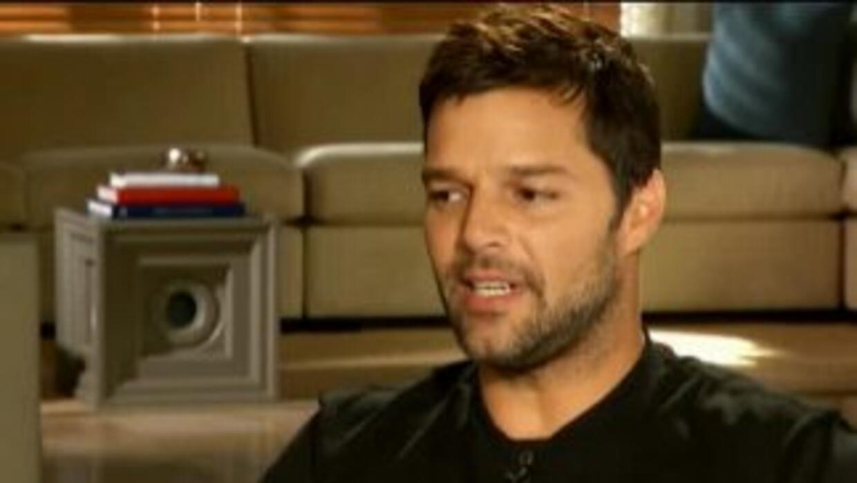 Ricky Martin: tengo menos miedos