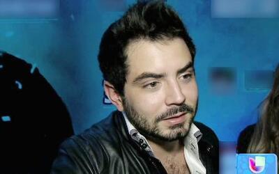 José Eduardo Derbez se siente satisfecho como actor