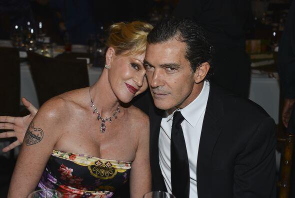 Antonio Banderas y Melanie Griffith, ¡cuánto amor! Mira aqu...