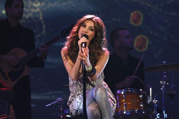 Thalía es una de las figuras del espectáculo que ha crecido de la mano d...