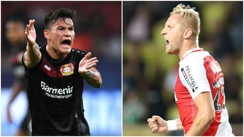 Batalla tweets Mónaco vs. Bayer Leverkusen