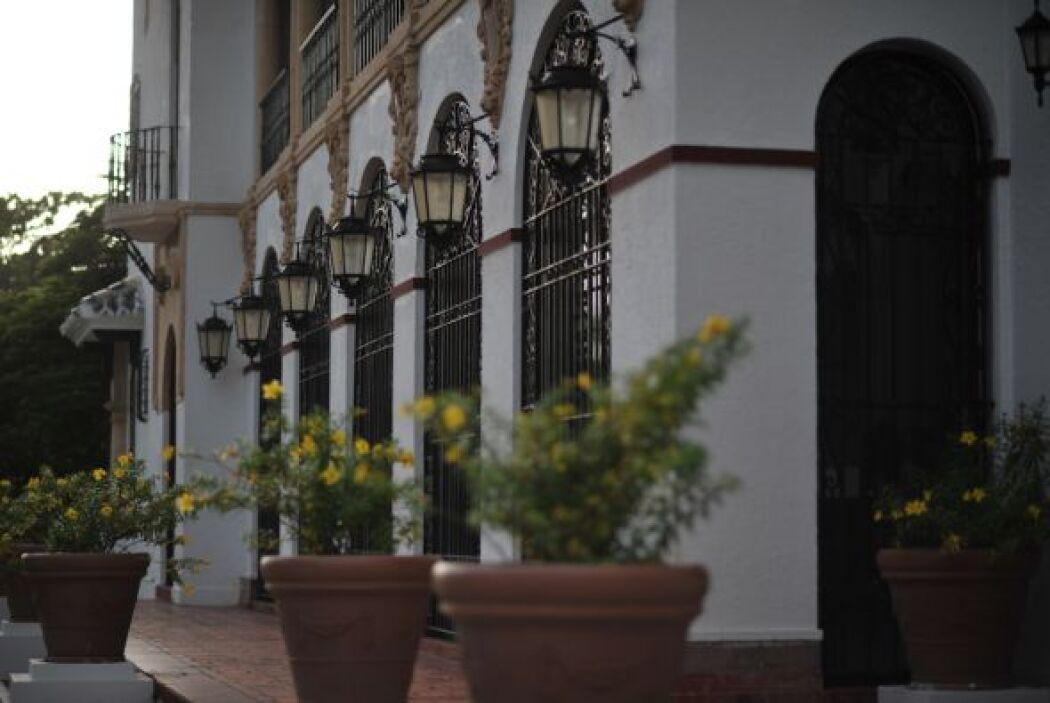 Alejandra Espinoza y Aníbal escogieron este lugar después de que su prim...