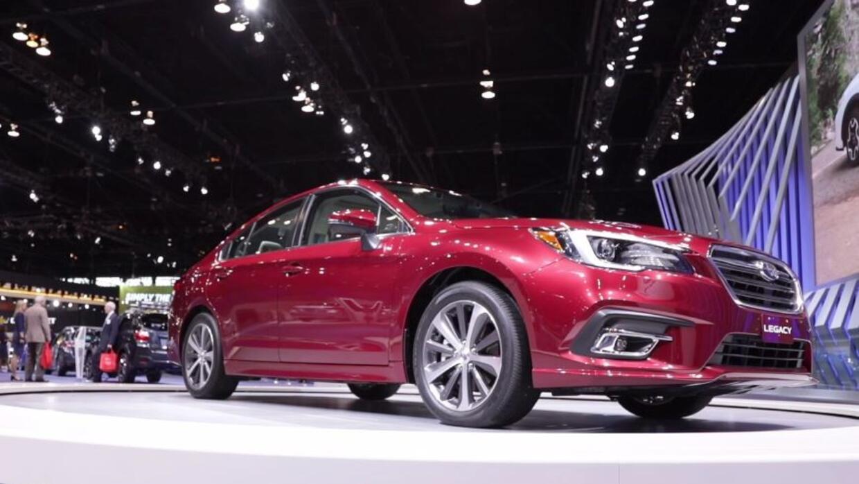 Subaru refresca a su Legacy 2018 y lo presenta en el Auto Show de Chicag...