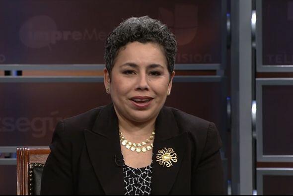 Clarissa Martínez, Directora de Participación Cívica e Inmigración del C...