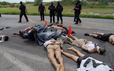 El cártel del 'Los Zetas' es uno de los grupos criminales más sanguinari...